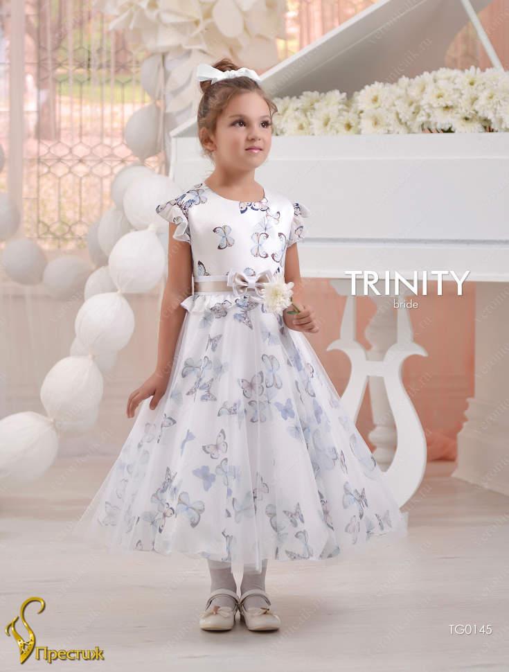 80427d593e9 Платье праздничное TRINITY bride арт.TG0145 принт бабочки