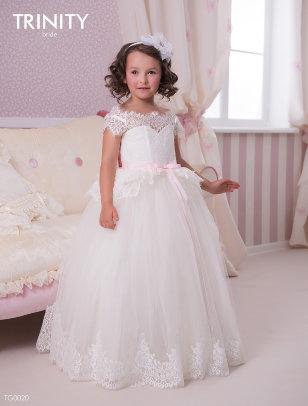 Платье бальное TRINITY bride арт.TG0020 молочный/коралловый