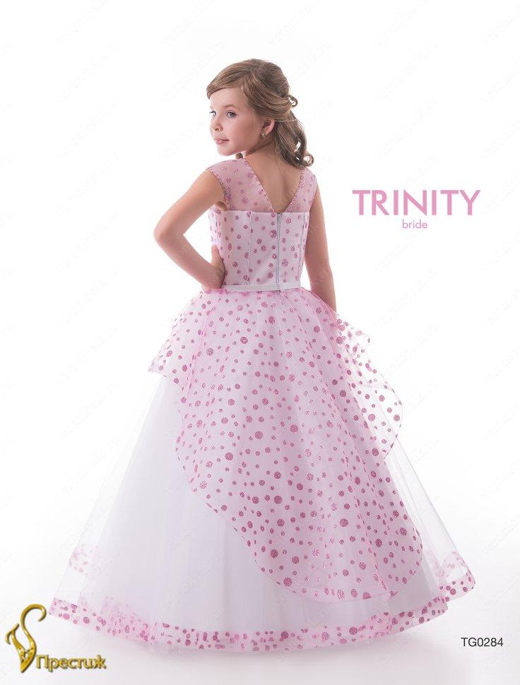 86880d22a3a Платье бальное TRINITY bride арт.TG0284 белый-малиновый