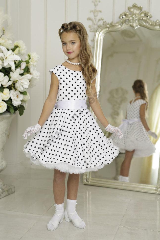 7a2408a135c Платье в горох