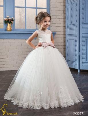 Платье бальное TRINITY bride арт.TG0571 Молочный