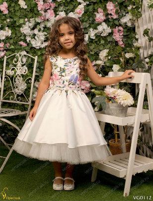 Платье праздничное Престиж VG0112 розовый