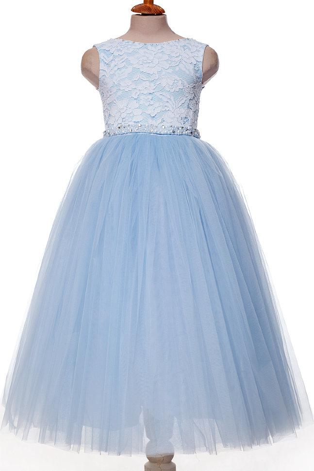 c581bb929a2 Платье TRINITY bride арт.FG0486 голубой