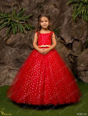 Платье праздничное Престиж VG0131 красный
