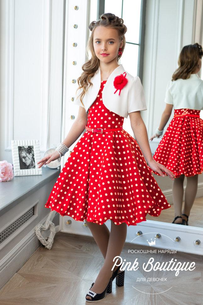 66ac1341046ed46 Платье в горох