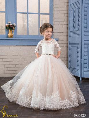 Платье бальное TRINITY bride арт.TG0525 молочный