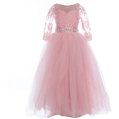 Платье праздничное Престиж FG0488 зоровая пудра