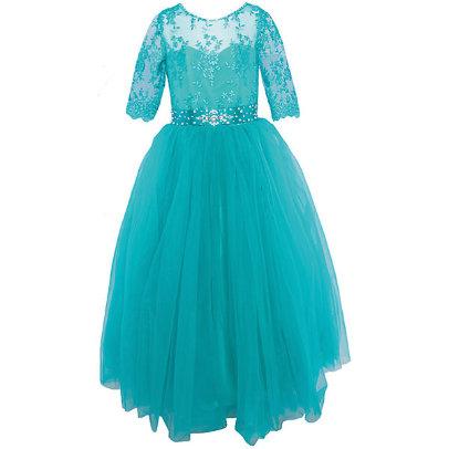 Платье праздничное Престиж FG0488 морская волна