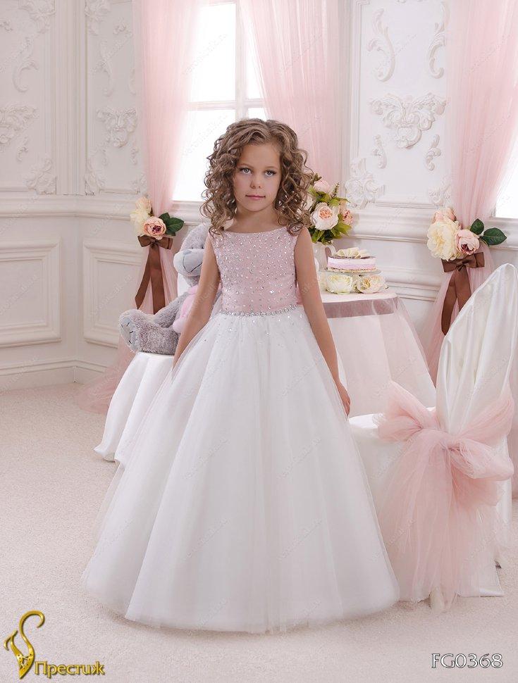 290d29431da Платье бальное TRINITY bride арт.FG0368 айвори-брусничный