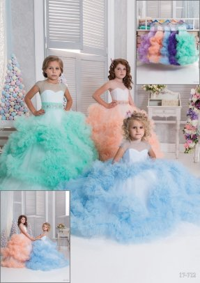 """Платье бальное """"Облако"""" TRINITY bride FG0501 цвет на выбор"""