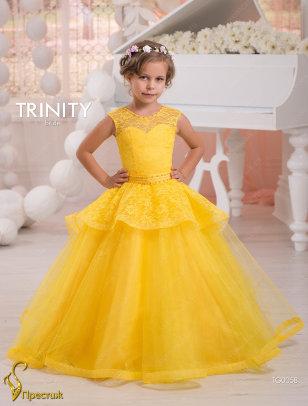 Платье бальное TRINITY bride арт.TG0058 желтый