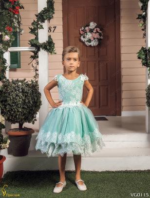 Платье праздничное Престиж VG0115 бирюзовый