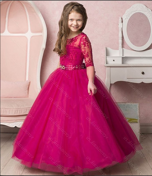 5d16c8a7726 Платье бальное TRINITY bride FG0488 малиновый