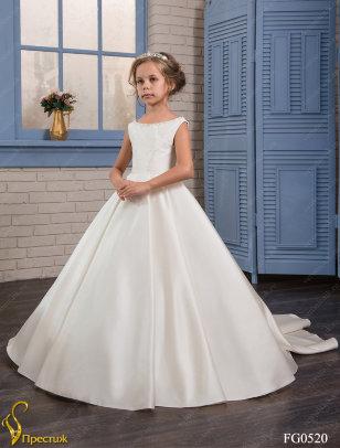 Платье бальное TRINITY арт.FG0520 молочный