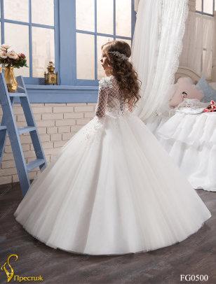 Платье бальное TRINITY bride арт.FG0500 молочный