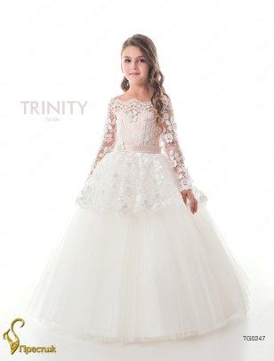 Платье бальное TRINITY bride арт.TG0247 молочный